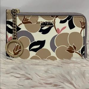 Kate Spade Card Holder Cameron Breezy Floral NWT